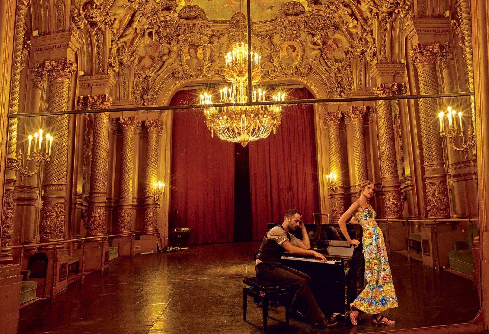 Девушка из Большого театра: Наталья Водянова в образе балерины