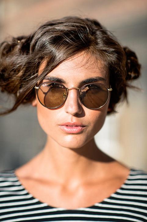 Прически для кудрявых волос: новые идеи от street-style звезд