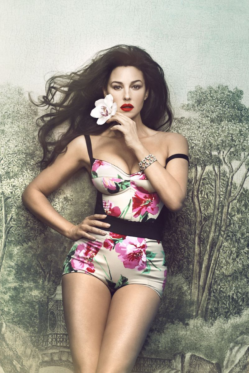 Лучшая Девушка Бонда: эволюция стиля и красоты Моники Беллуччи