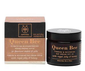 Дневной восстанавливающий крем для лица с маточным молочком Queen Bee