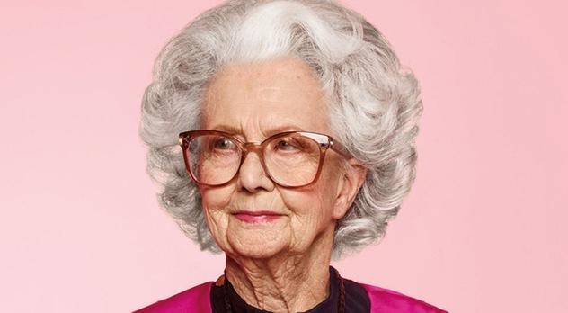 Возраст - не помеха: в новом номере Vogue выйдет фотосессия с 100-летней моделью