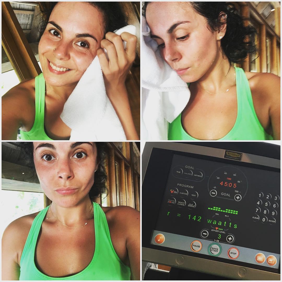 Настя Каменских спортивный блог в Instagram