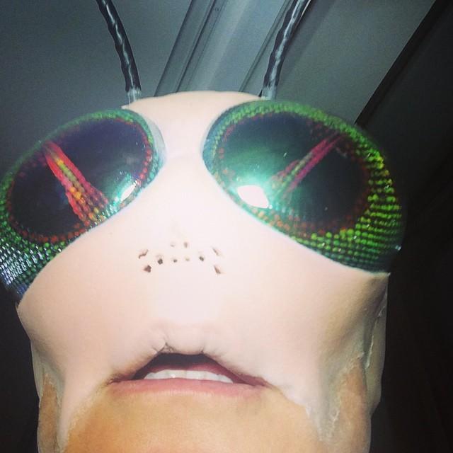 Хайди Клум вновь стала королевой Хэллоуин