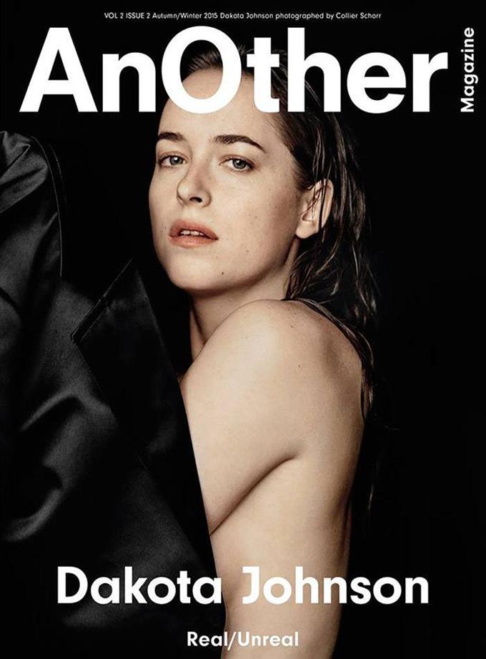 Другая: Дакота Джонсон позирует топлесс на страницах AnOther Magazine фото