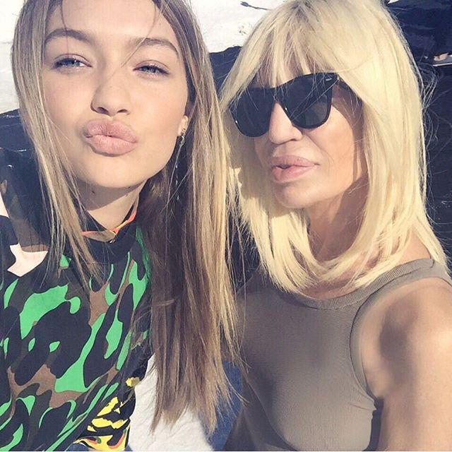 Невзаимная подписка: Донателла Версаче завела личный аккаунт в Instagram