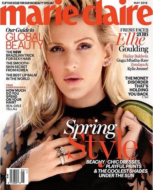 Молодые и успешные: Кайли Дженнер, Хейли Болдуин, Элли Голдинг и другие на обложках нового номера Marie Claire