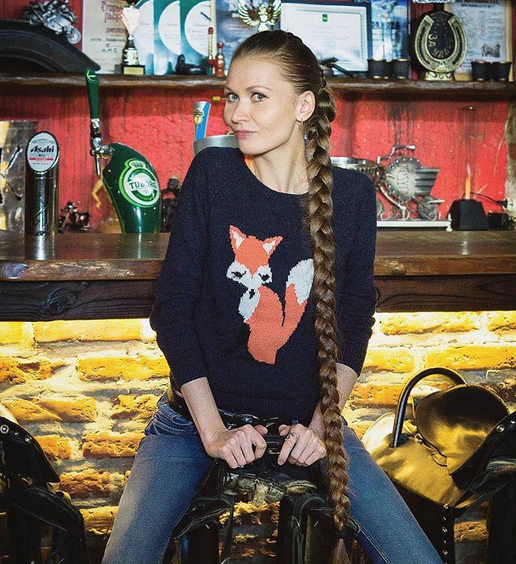Дашик Губанова  - живая Рапунцель фото