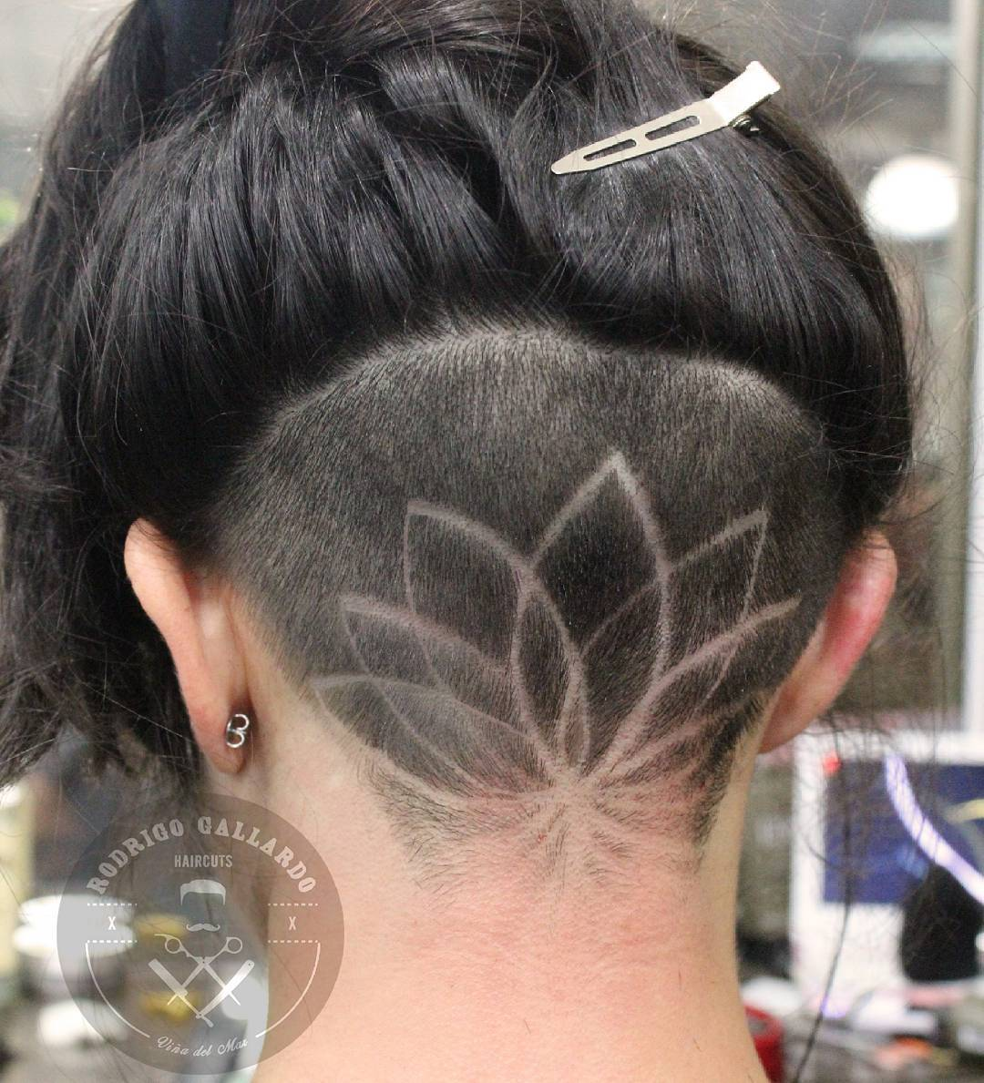 HAIR TATTOO (художественный выстриг волос)