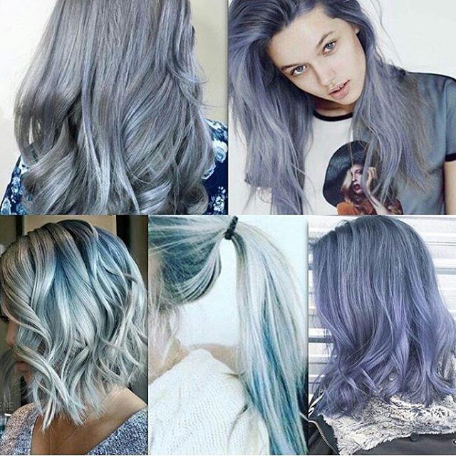 denim hair