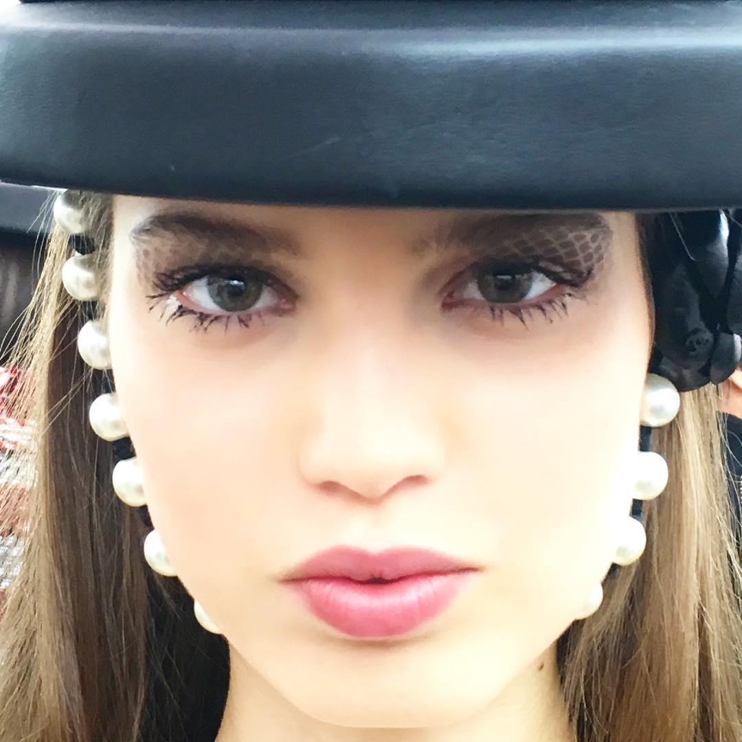 макияж chanel осень-зима 2016 фото
