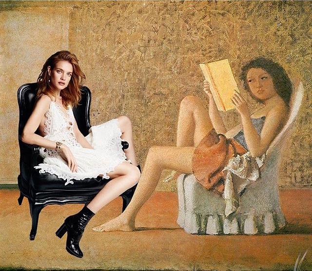 """Мода и живопись: что будет, если модели """"влезут"""" в сюжеты известных картин"""