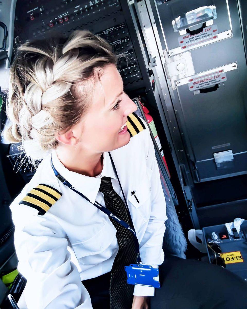 Небо, самолет, Мария: красивая девушка-пилот покорила пользователей Instagram