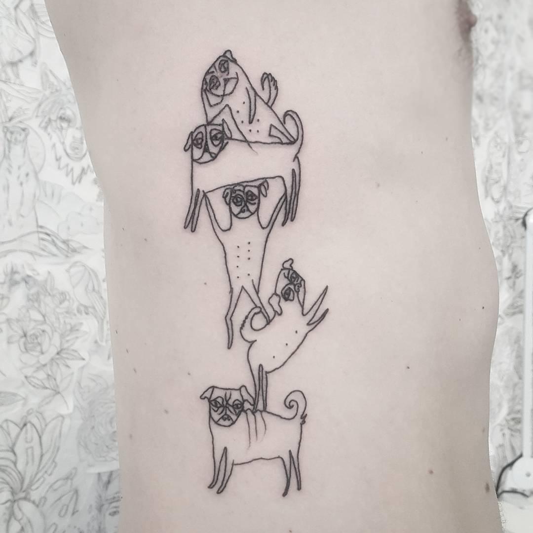 Наивное искусство: забавные работы польской татуировщицы, которые заставят тебя улыбаться
