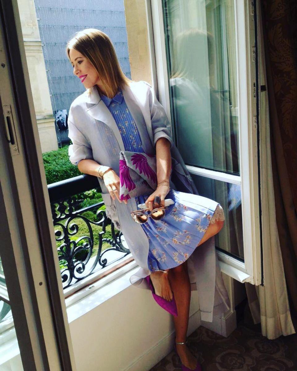 Рыжее каре: беременная Ксения Собчак отрезала волосы?