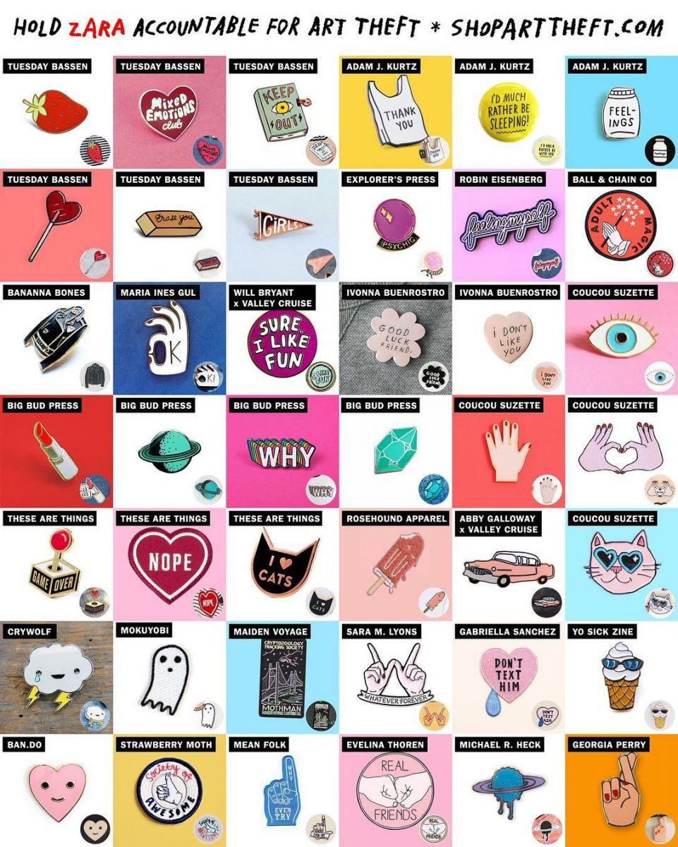 Победить монстра: бренд Zara уличили в воровстве чужих дизайнов
