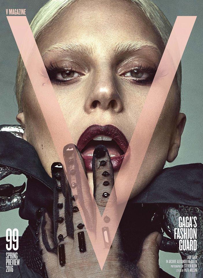 Самолюбование: Леди Гага на четырех обложках V Magazine январь 2016