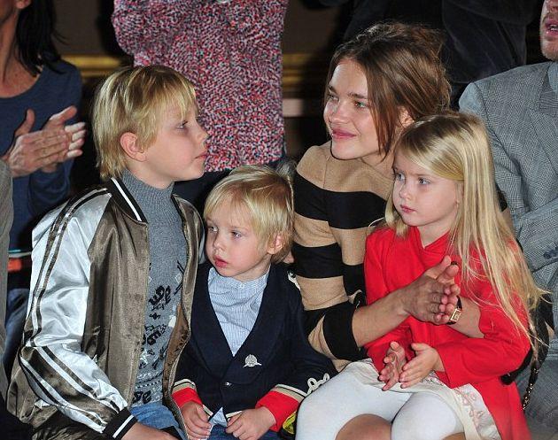 natalia vodianova дети фото