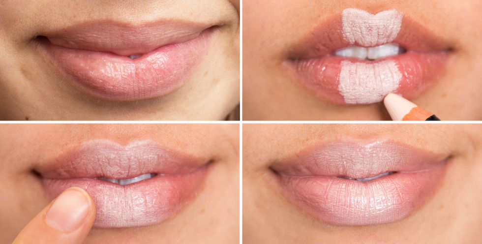 губы морщины фото