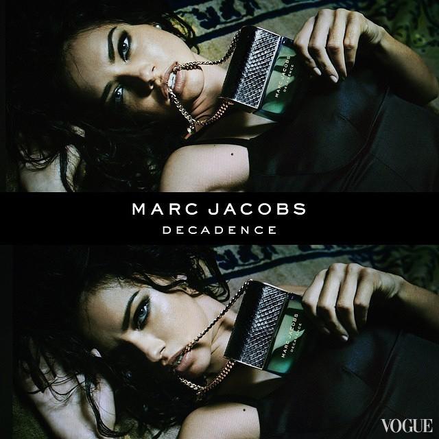 Без декаданса: чувственная Адриана Лима представляет новый аромат Marc Jacobs