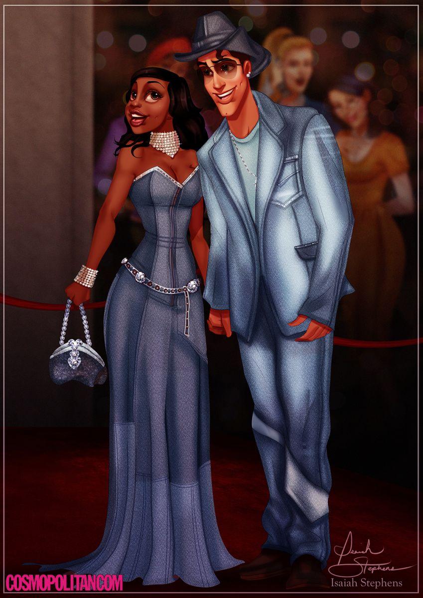 Если бы да кабы: Как выглядели бы диснеевские принцессы, если б они были Бритни Спирс