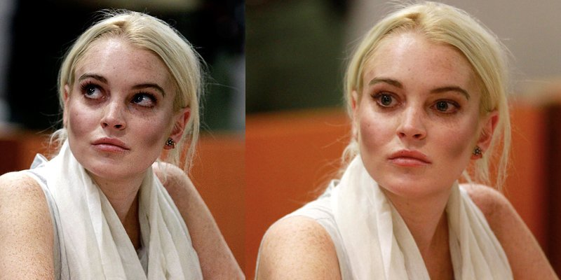 Ошибки в макияже: Линдсей Лохан