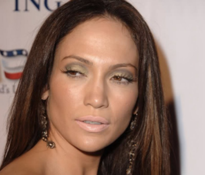 Ошибки в макияже: Дженнифер Лопес