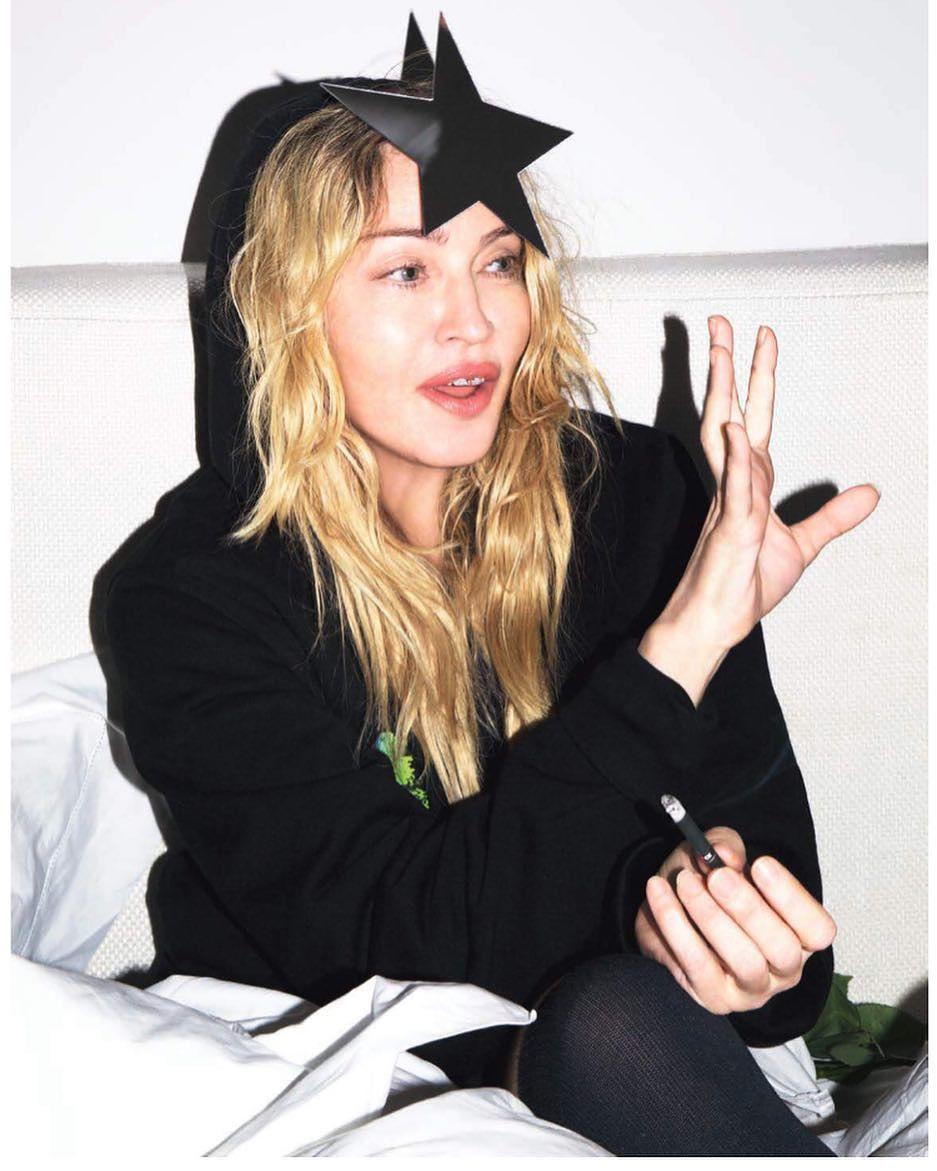 Неувядающая королева: Мадонна удивила неожиданным фотосетом (ФОТО)