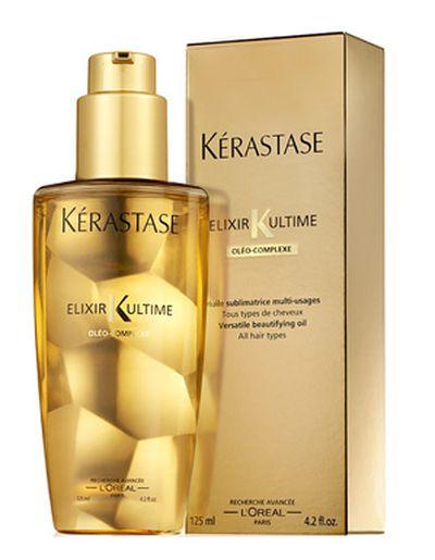 Универсальное масло Elixir Ultime для всех типов волос от Kérastase