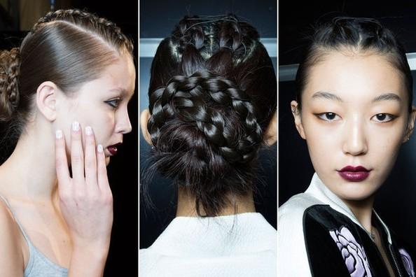 Лучшие трендовые прически с New York Fashion Week.