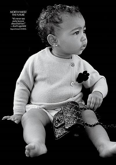 Дочь Ким Кардашьян Норт Уэст стала моделью