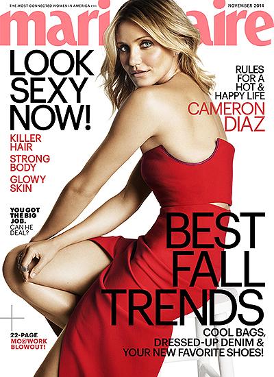 Камерон Диас стала украшением глянцевого журнала
