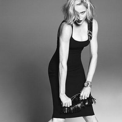 И снова Мэдж: Мадонна в третий раз стала лицом Versace