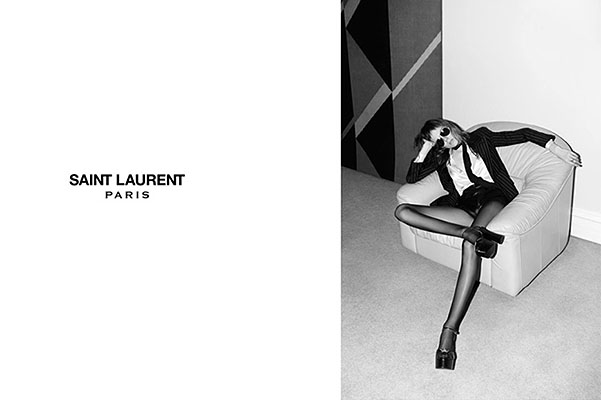 Слишком худа: в Британии запретили рекламу Saint Laurent из-за фигуры модели