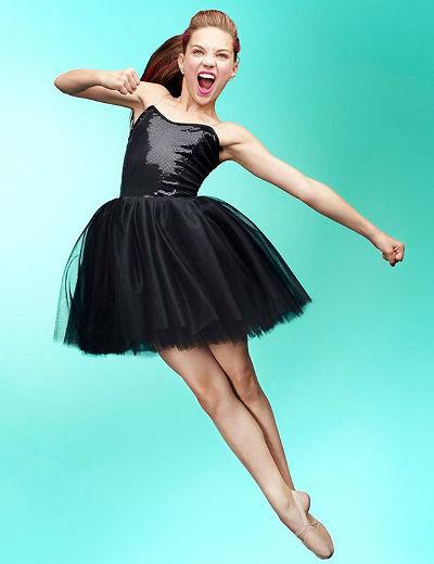 Звезда клипов Sia Мэдди Зиглер рекламирует одежду для танцев