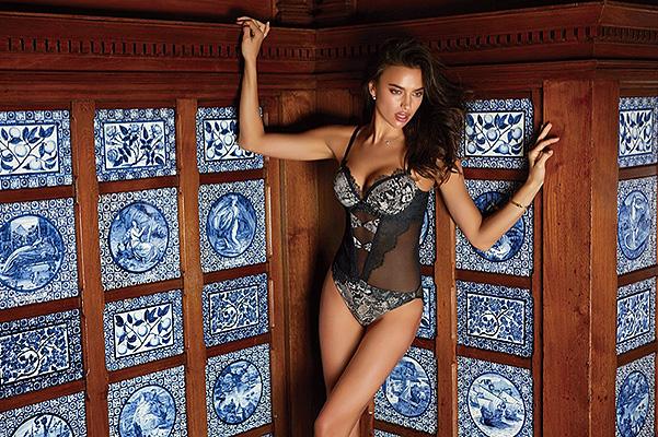Горячее не бывает: Ирина Шейк рекламирует китайское нижнее белье