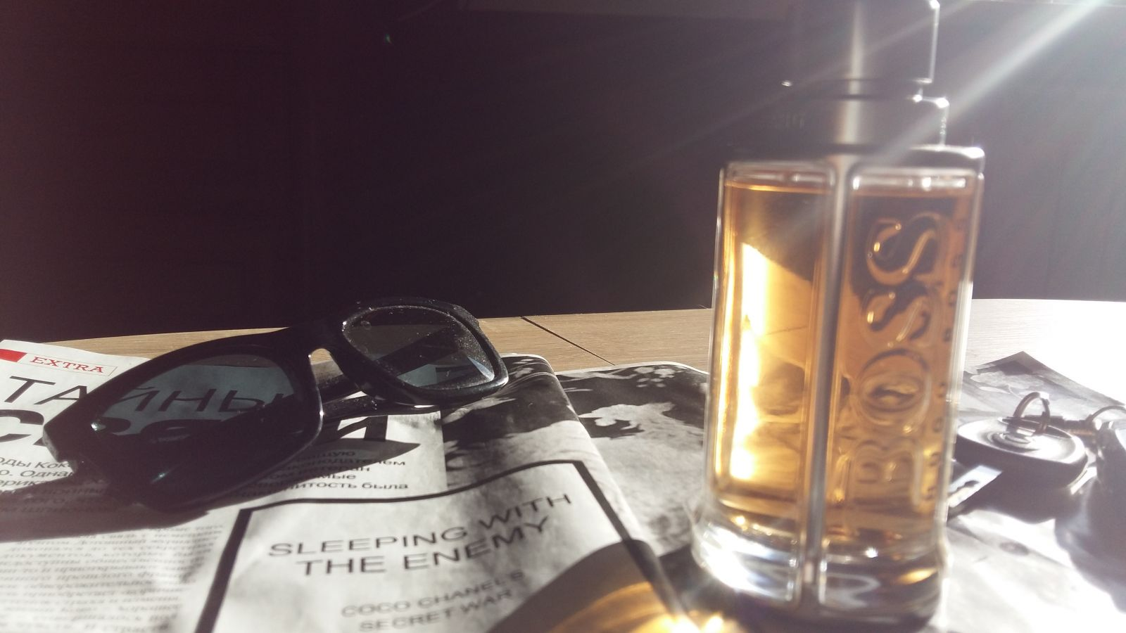 Мой тайный дивергент: обзор аромата BOSS The Scent