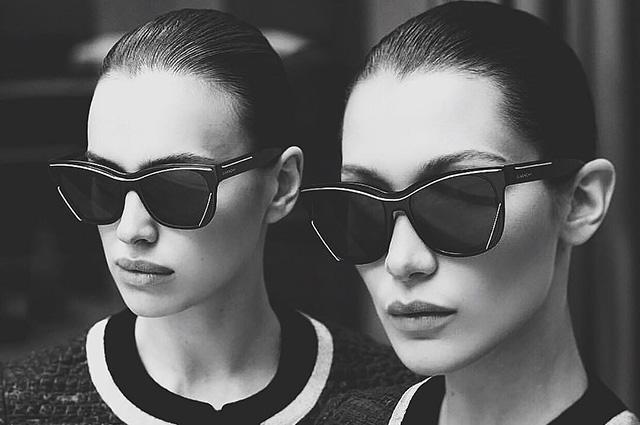 Ирина Шейк и Белла Хадид в рекламной кампании очков Givenchy (ФОТО)