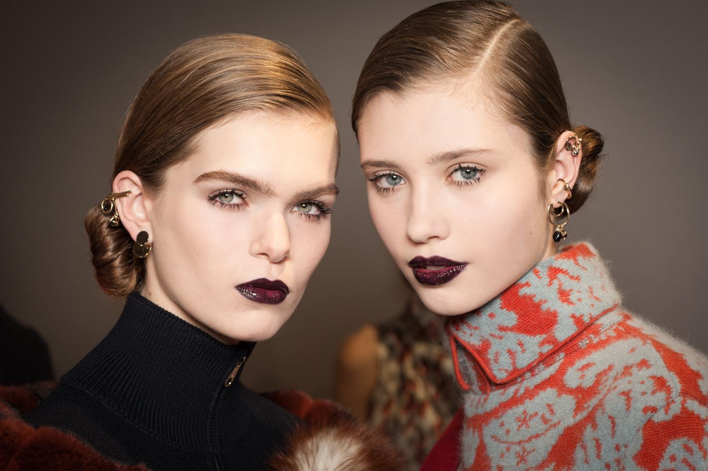 Показ Ready to Wear Осень-Зима 2016/2017, Dior show Backstage Dior Make-up создан и стилизован Питером Филипсом