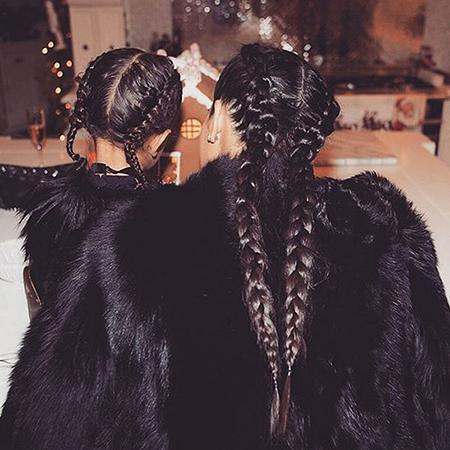Коса до пояса: Ким Кардашьян нарастила волосы своей дочке Норт