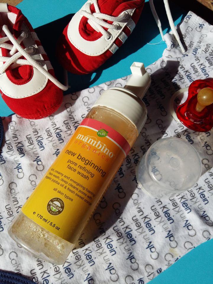 Пенка для очистки пор Mambino Organics