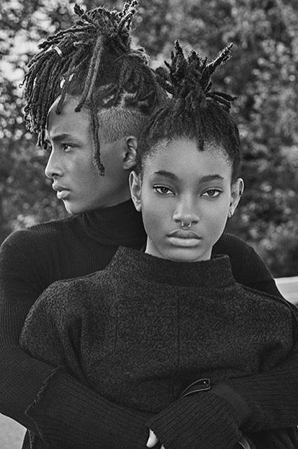 Как две капли: дочь и сын Уилла Смита  появились на обложке нового номера Interview (ФОТО)