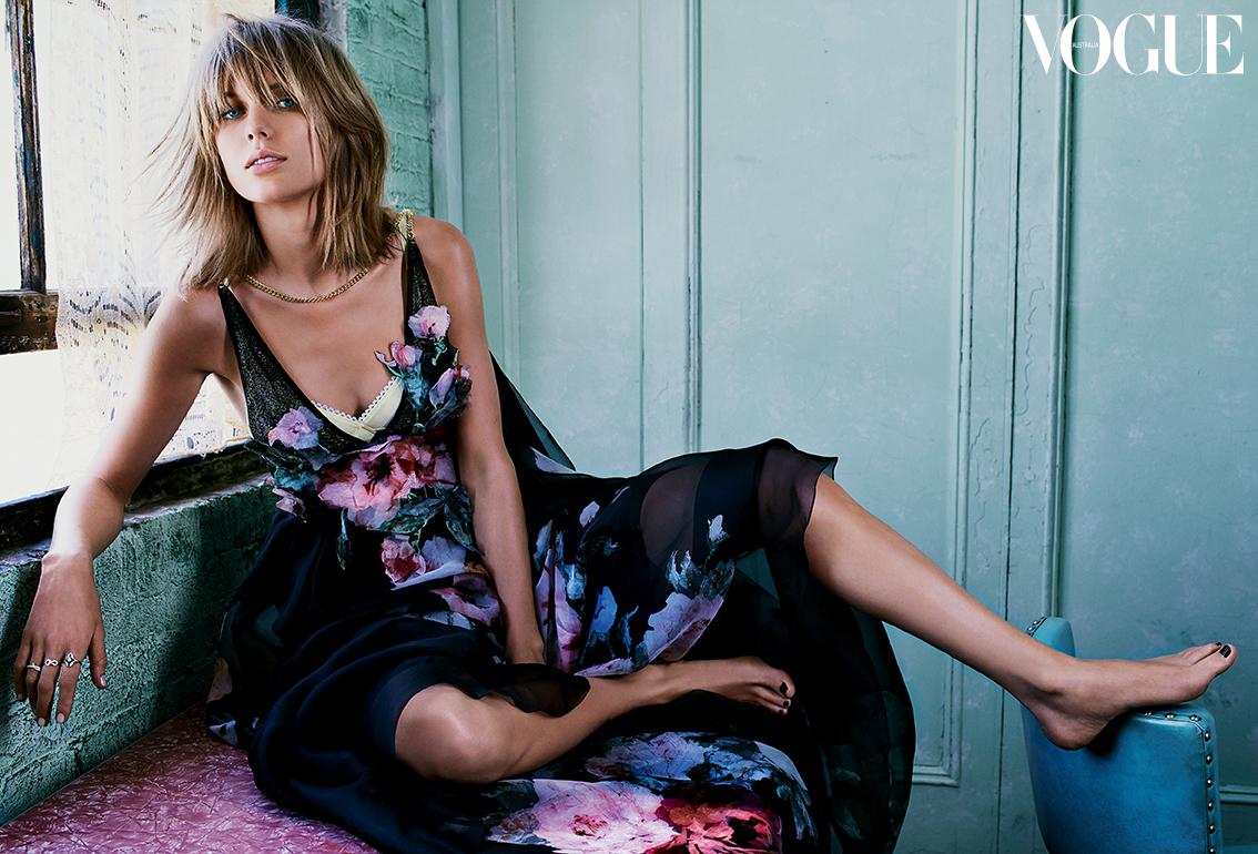 New look: Тейлор Свифт снялась для Vogue в новом имидже
