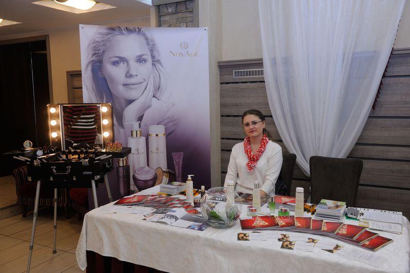 makeup-зона компании «Мэри Кэй»