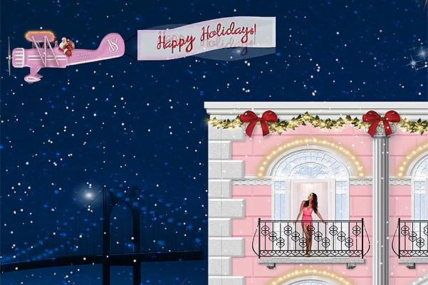 С Рождеством! Ангелы Victoria's Secret блистают в праздном видео
