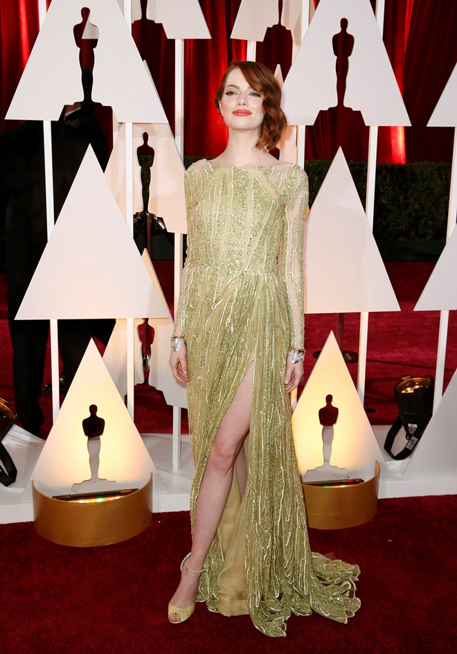 За кулисами: Эмма Стоун показала, как готовятся к Оскару