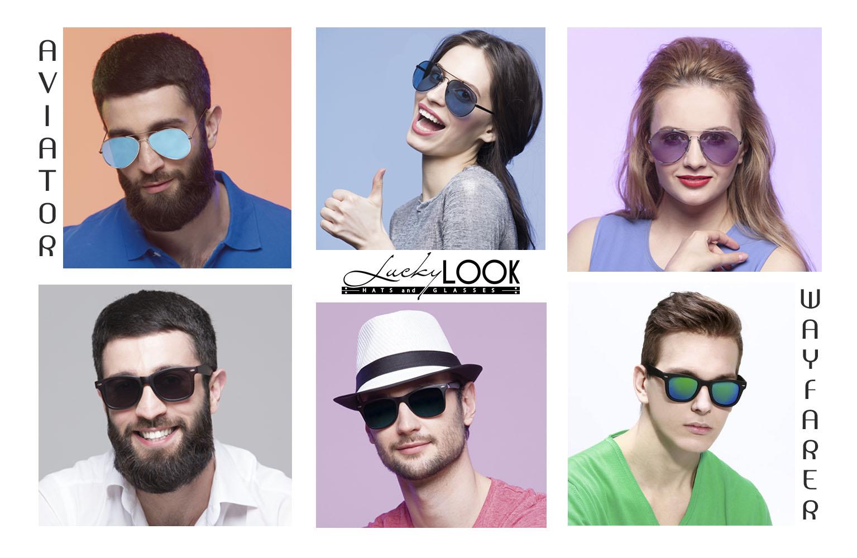 Тренды солнцезащитных очков от LuckyLOOK