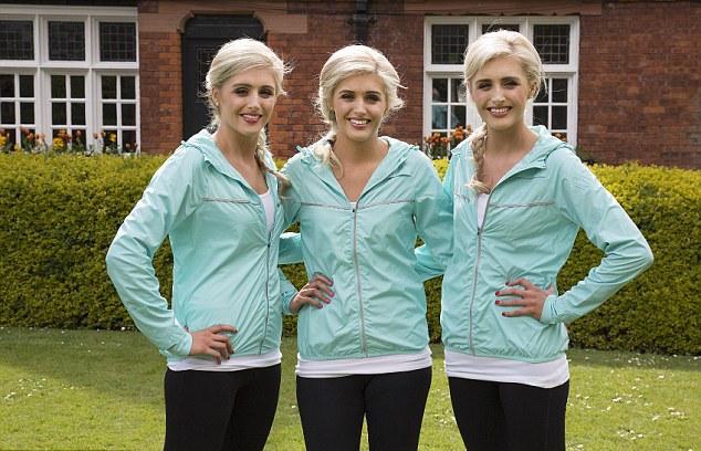 Абсолютно идентичные: тройняшки-близняшки одинаково выглядят, питаются и занимаются спортом