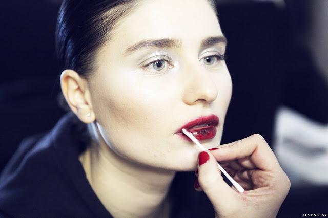 Винные губы - тренд сезона осень-зима 2014