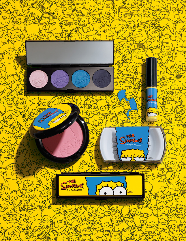 коллекция макияжа МАС Симпсоны фото