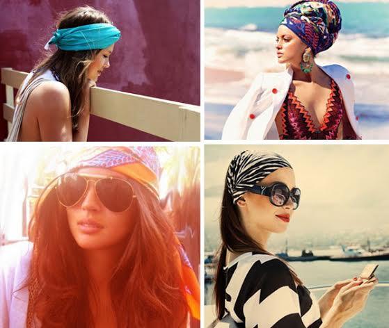Модные пляжные прически